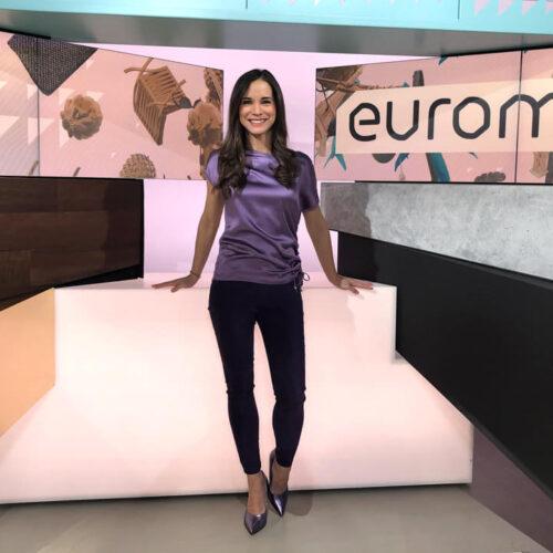 Kristina Sterz euromaxx TV-Moderation