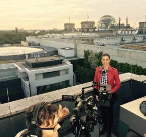 Kristina Sterz TV-Moderation