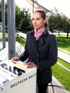 Kristina Sterz Deutsche Welle TV-Moderation